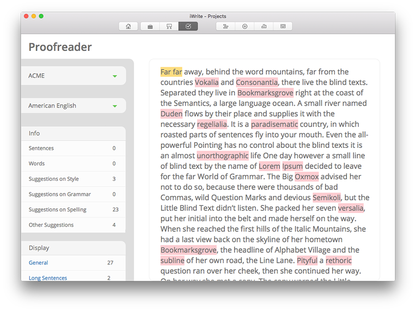 iWrite helps you with grammar & spelling as well as style